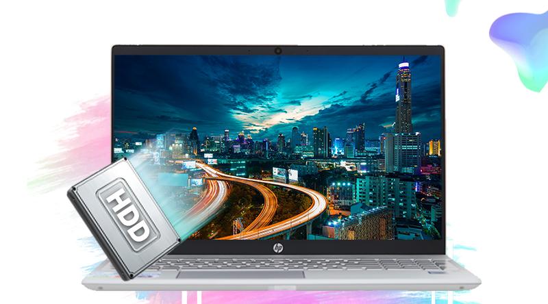 HP Pavilion 15 cs2034TU có ổ cứng HDD dung lượng 1 TB