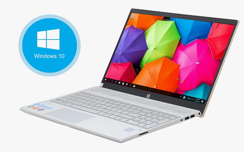 Laptop HP Pavilion 15 cs2034TU đã cài đặt Window 10 bản quyền
