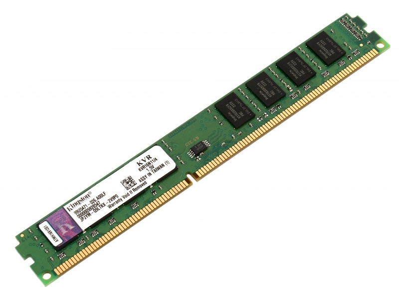 RAM Kingston 4Gb DDR3 Bus 1600Mhz