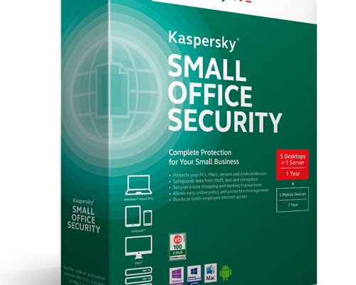 Phần mềm diệt virus Kaspersky Small Office Security ( 1Sever + 5PC )