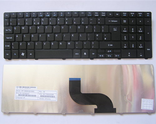 Keyboard Acer Aspire 5810 5236 5242 5338 5340 5410 5536 5538 5542 5545 5625 5738 5739 5740 5741 5745 5750 5820 7336 7340 7535 7735 7736