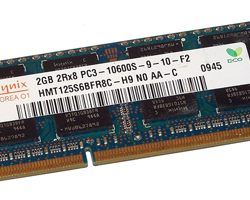 DDRam Notebook 2GB/1600 Hynix